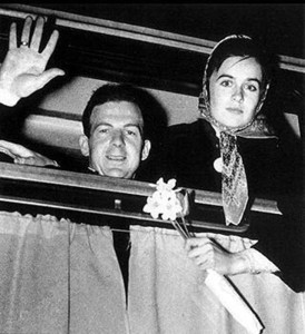 Ли Харви Освальд с женой Мариной Прусак