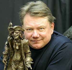 Скульптор Владимир Жбанов