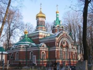 Храм Александра Невского на Военном кладбище в Минске